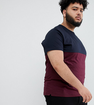 French Connection PLUS Contrast Color Block T-Shirt
