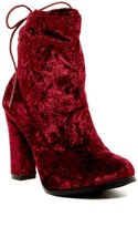 Chase & Chloe Solvang Back Lace Bootie