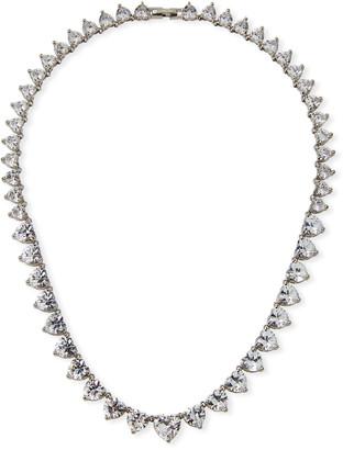Fallon Monarch Heart Riviere Necklace