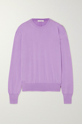 The Row Aleja Cashmere Sweater - Lavender
