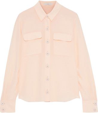 Joie Eastona Washed-silk Shirt