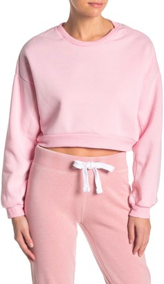 Electric Yoga Drop Shoulder Sleeve Knit Pullover