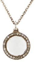 Ippolita Quartz & Diamond Mini Pendant Necklace