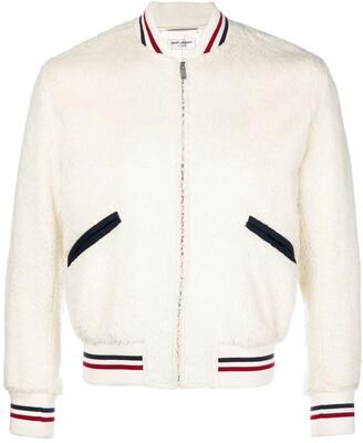 Saint Laurent Shearling Bomber Jacket