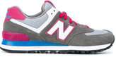 New Balance 574 core plus sneakers - women - Cotton/Leather/Suede/rubber - 36