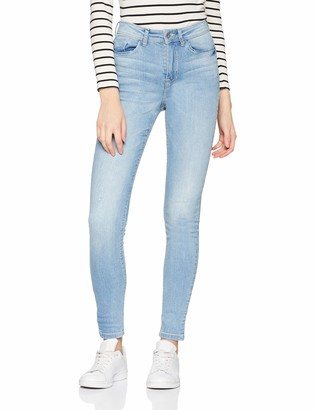 JDY Women's JDYJONA Skinny HIGH NOOS DNM Jeans