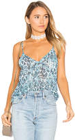 House Of Harlow x REVOLVE Carrson Cami in Blue. - size L (also in M,S,XS)