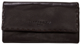 Liebeskind Berlin Slam H7 Heavy Stitch Leather Wallet, Eagle Brown