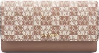 Nine West Block Modern Continental Wallet