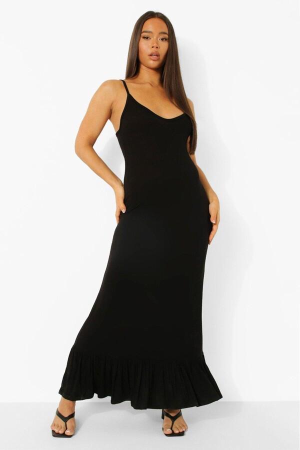 Thumbnail for your product : boohoo Drop Hem Maxi Dress