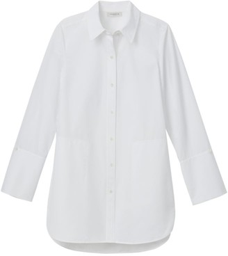 Lafayette 148 New York Wilkes Italian Cotton Shirt