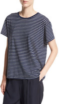 Vince Striped Relaxed-Fit Pima Tee