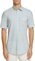 Diesel S-WOP Abstract Print Regular Fit Button-Down Shirt