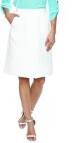 Lucy Paris White Pleat Skirt