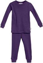 City Threads Rib Snug Fit PJ Set (Toddler/Kid) - Pink-4T