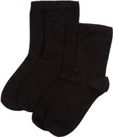 Accessorize 2 Pack Plain Socks