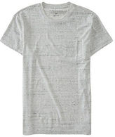 Aeropostale Mens Flecked Pocket Tee Shirt