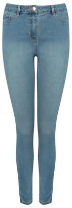 M&Co Super skinny light wash jeans