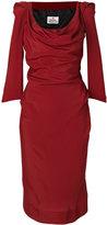 Vivienne Westwood three-quarter length fitted dress - women - Acetate/Viscose - 40