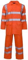 Lush Lane Mens Hi Viz Waterproof Rainsuit Set Jacket & Trouser