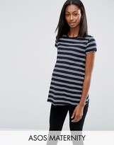 Asos Stripe Crew Neck T-Shirt