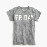 """J.Crew Boys' """"Friday"""" T-shirt in the softest jersey"""