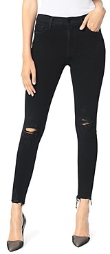 Joe's Jeans The Charlie Ankle Skinny Jeans in Obsidian