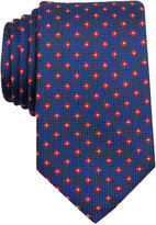 Nautica Men's Barge Textured Floral-Pattern Classic Tie