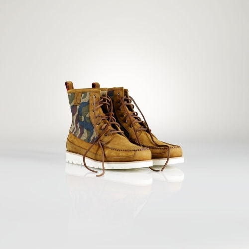 Polo Ralph Lauren Oiled Suede Stratford Boot