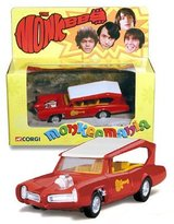Corgi THE MONKEEMOBILE Detailed Diecast 5 Inch Vehicle from the Classic Television Series THE MONKEES