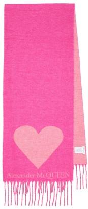Alexander McQueen Wool-blend scarf