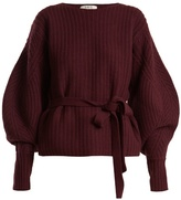 Sea Balloon-sleeved ribbed-wool sweater