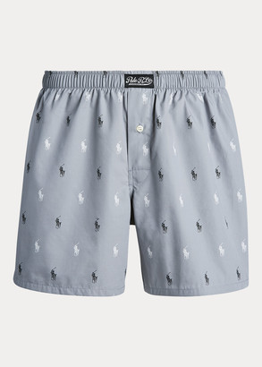 Ralph Lauren Signature Pony Cotton Boxer