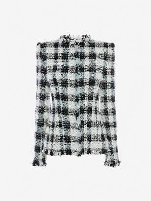 Alexander McQueen Boucle Tweed Jacket