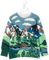 Stella McCartney intarsia-knit sweater