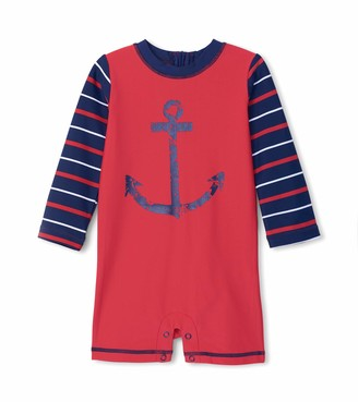 Hatley Baby Boys' One Piece Rash Guard Swimsuits