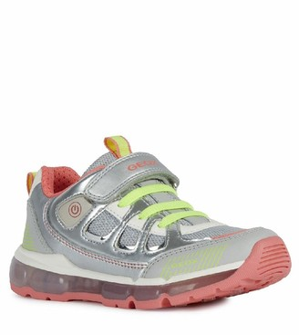 Geox Girls Android Trainers - Silver