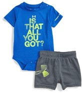 Under Armour Infant Boy's Is That All Bodysuit & Shorts Set