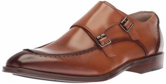 Stacy Adams Men's Baldwin Moc Toe Double-Monk Strap Loafer