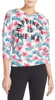 Spiritual Gangster Women's 'Happiness Is The Way' Hoodie