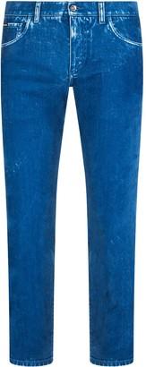 Dolce & Gabbana Dyed Skinny Jeans