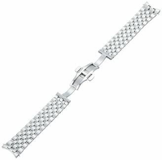 Tissot Stainless Steel Silver Watch Strap 20mm Width (Model: T605043637)