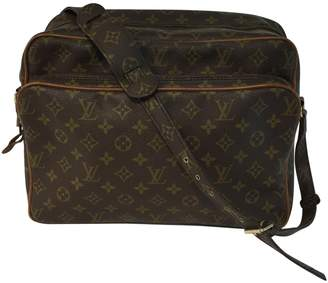 Louis Vuitton Vintage Nile Brown Cloth Handbag