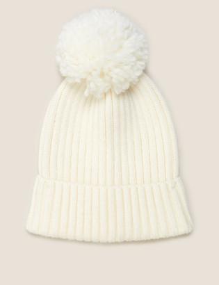 Marks and Spencer Kids' Pom Pom Winter Hat (1-13 Yrs)