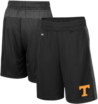 Colosseum Youth Black Tennessee Volunteers Sabertooth Pocketed Shorts