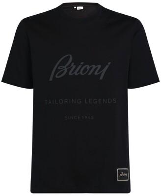 Brioni Cotton Logo T-Shirt