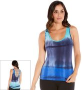 Women's Balance Collection Ladder Back Tie Dye Tank Top