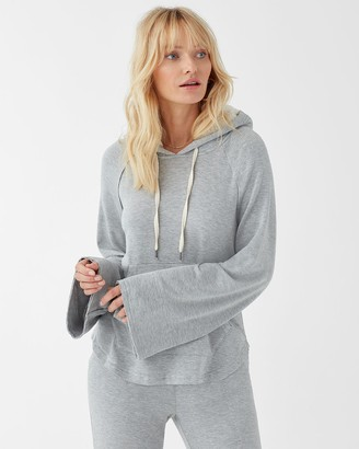 Splendid Supersoft Pullover Hoodie with Sherpa