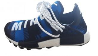 Adidas X Pharrell Williams NMD Hu Blue Cloth Trainers