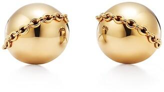 Tiffany & Co. & Co. City HardWear bolt stud earrings in 18k gold